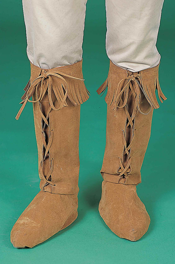 Costume Boot Covers Hippie Costume Boot Covers - HalloweenCostumes4U.com - Accessories