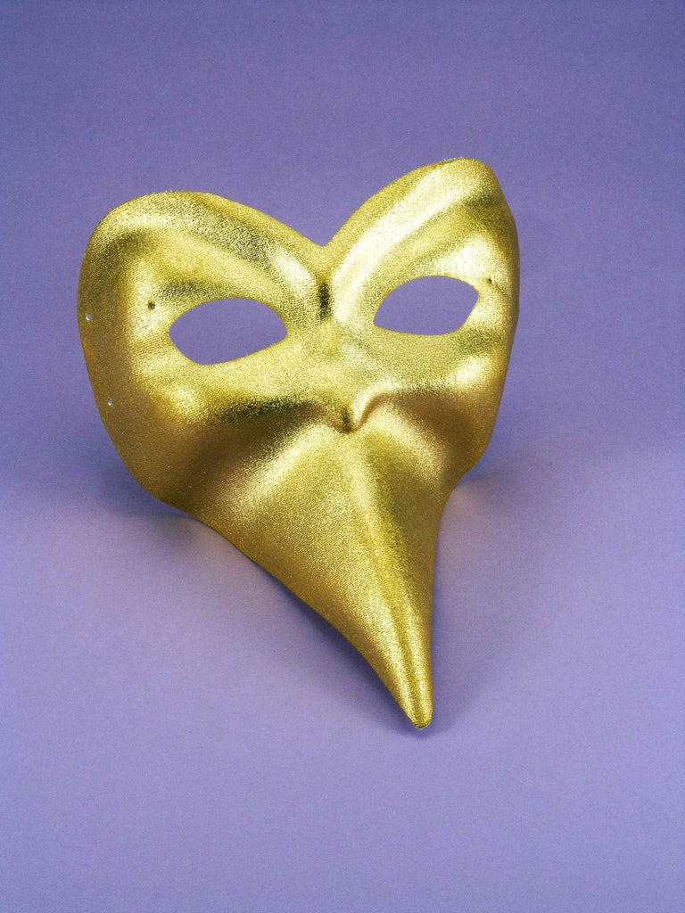 Costume Masks Ballo Gold Mask
