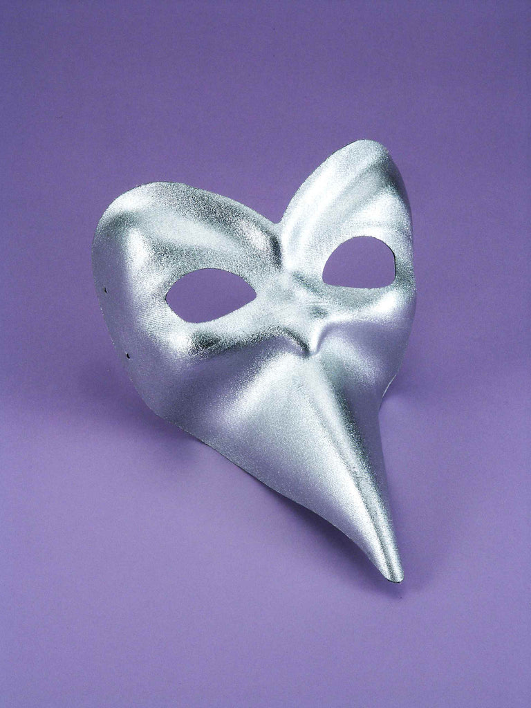 Costume Masks Ballo Silver Mask