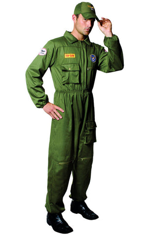 Mens Air Force Pilot Costume - HalloweenCostumes4U.com - Adult Costumes