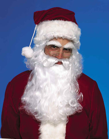 Santa Wig & Beard Sets Costumes Accessories - HalloweenCostumes4U.com - Holidays