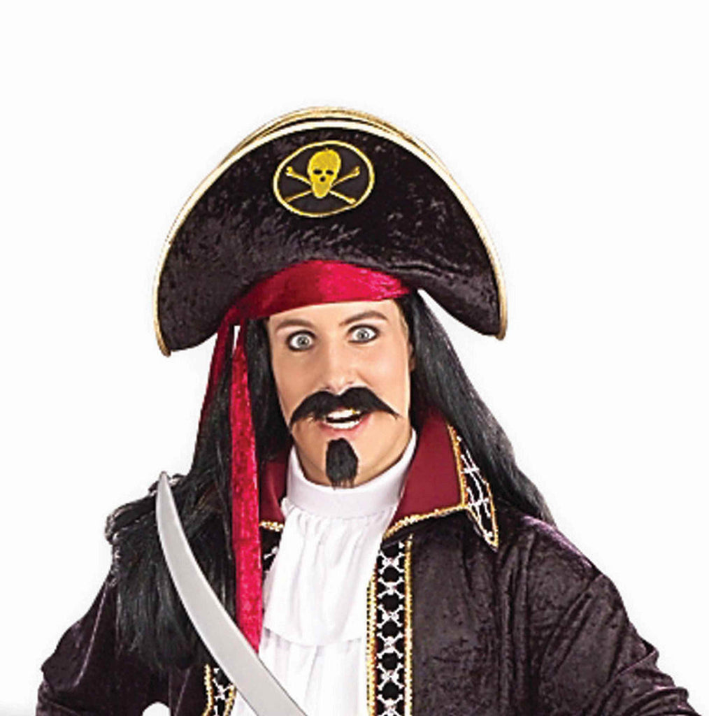 Halloween Hats Deluxe Pirate Hats - HalloweenCostumes4U.com - Accessories