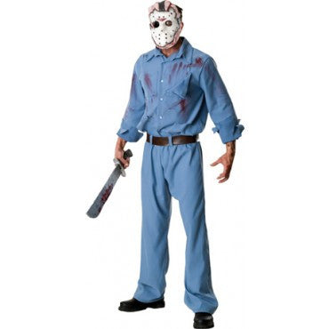 Mens Friday The 13th Deluxe Jason Voorhees Costume