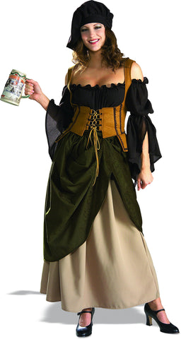 Womens Renaissance Tavern Wench Costume - Grand Heritage - HalloweenCostumes4U.com - Adult Costumes