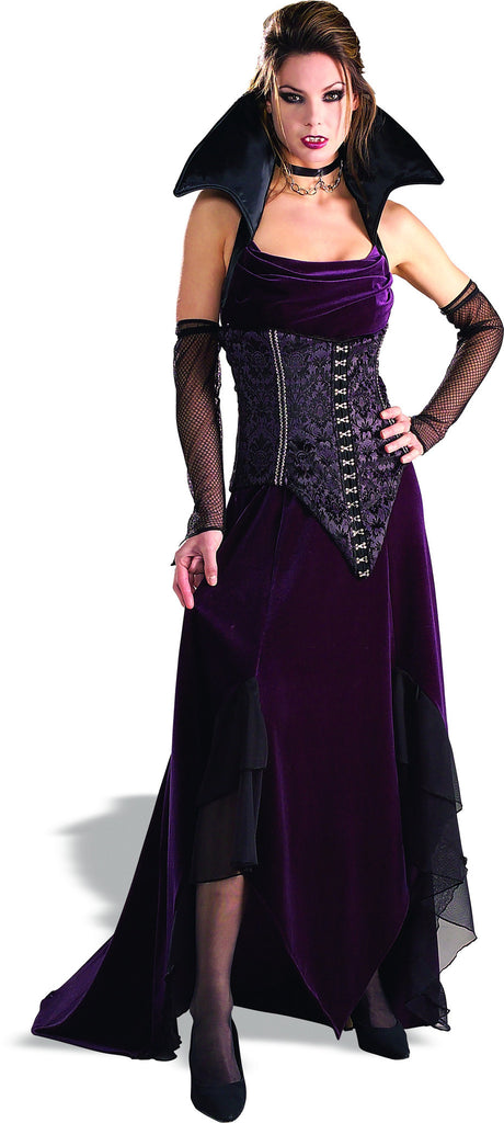 Womens Vampira Costume - Grand Heritage Collection - HalloweenCostumes4U.com - Adult Costumes