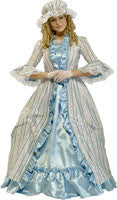 Womens Martha Washington Costumes - Grand Heritage Collection - HalloweenCostumes4U.com - Adult Costumes
