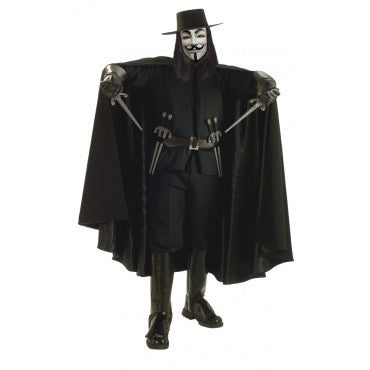 Mens V for Vendetta Costume - Grand Heritage Collection - HalloweenCostumes4U.com - Adult Costumes