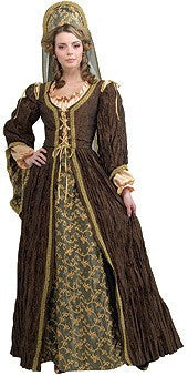 Womens Renaissance Queen Anne Boleyn Costume - Grand Heritage - HalloweenCostumes4U.com - Adult Costumes