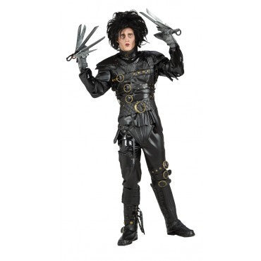 Collectors Edition Edward Scissorhands Costume - Grand Heritage Collection - HalloweenCostumes4U.com - Adult Costumes