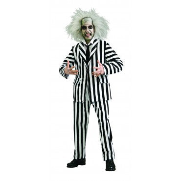 Mens Beetlejuice Costume - Grand Heritage Collection - HalloweenCostumes4U.com - Adult Costumes