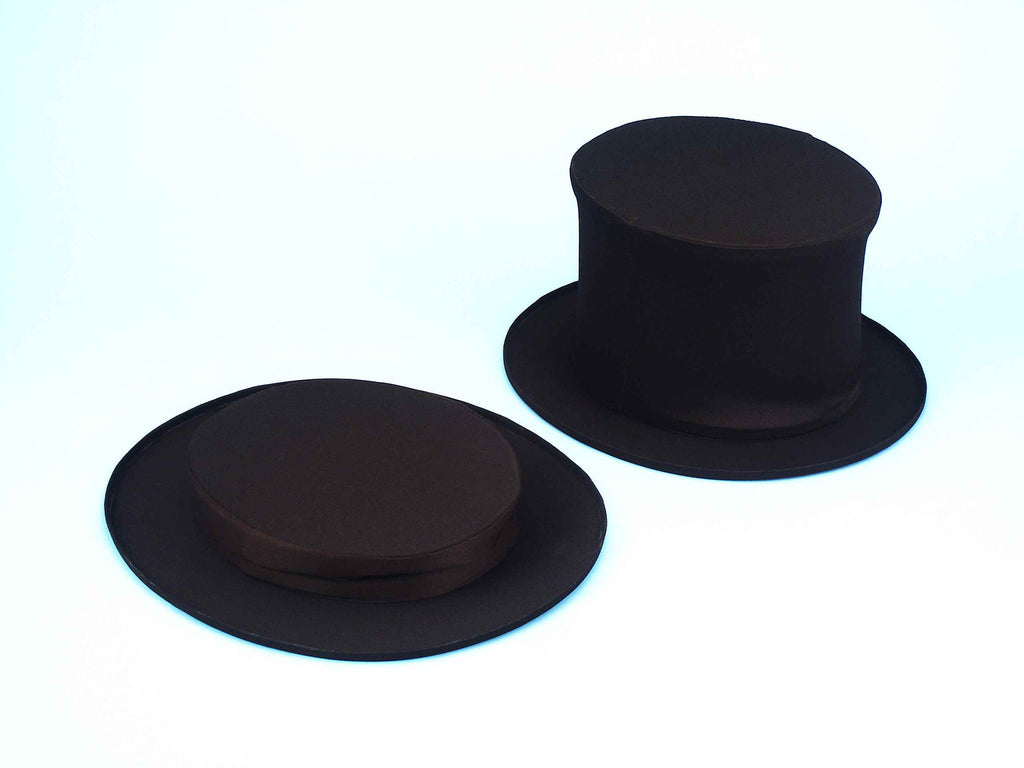 Costume Hats Childs Collapsible Top Hats