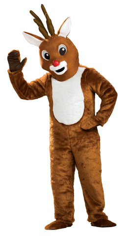 Adults Reindeer Mascot/Parade Costume - HalloweenCostumes4U.com - Adult Costumes