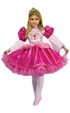 Girls Graceful Ballerina Costume - HalloweenCostumes4U.com - Kids Costumes