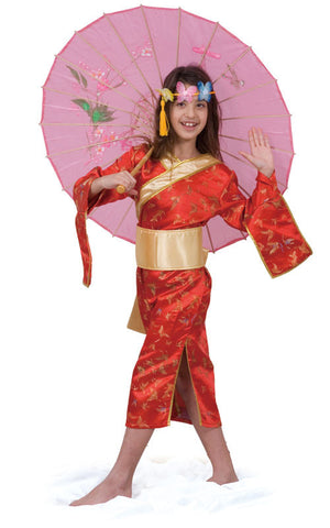 Girls Japanese Dress Costume - HalloweenCostumes4U.com - Kids Costumes
