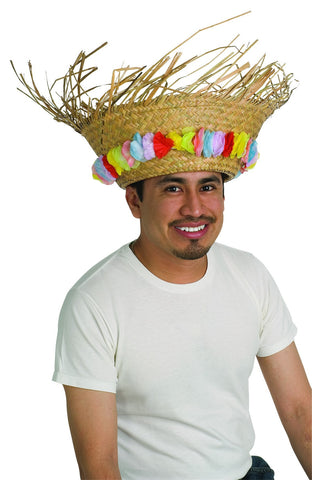 Beach Bum Straw Hat - HalloweenCostumes4U.com - Accessories