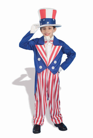 Uncle Sam Halloween Costumes Kids Costumes - HalloweenCostumes4U.com - Holidays