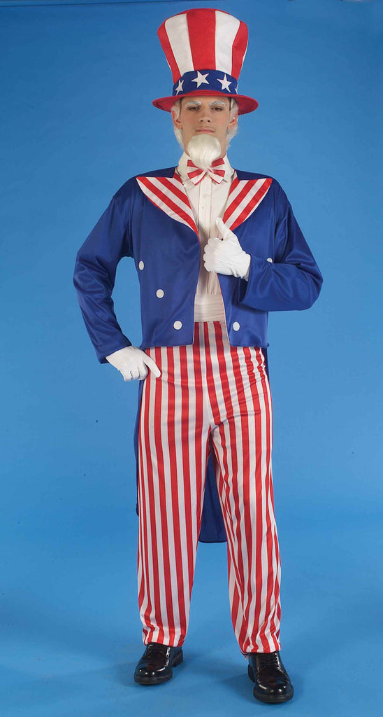 Uncle Sam Halloween Costumes Adults Costume
