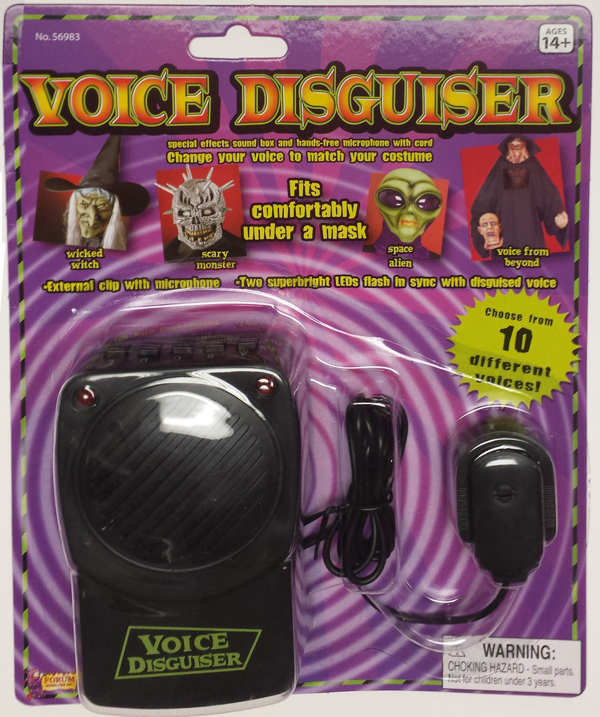 Halloween Voice Changer 4 Different Voices - HalloweenCostumes4U.com - Accessories