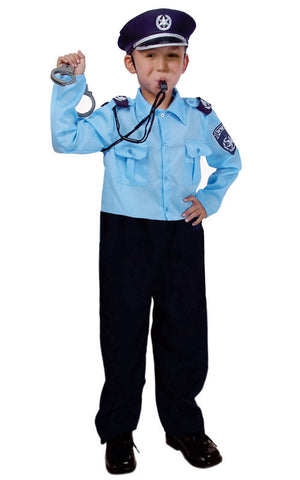 Kids Israeli Police Officer Costume - HalloweenCostumes4U.com - Kids Costumes