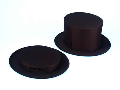 Costume Top Hats Black Collapsible Top Hat XL - HalloweenCostumes4U.com - Accessories