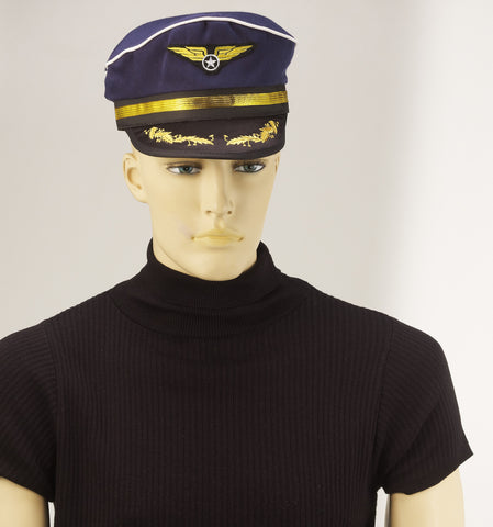 Halloween Costume Hats Pilots Hat - HalloweenCostumes4U.com - Accessories