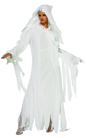 Womens Ghostly Spirit Costume - HalloweenCostumes4U.com - Adult Costumes