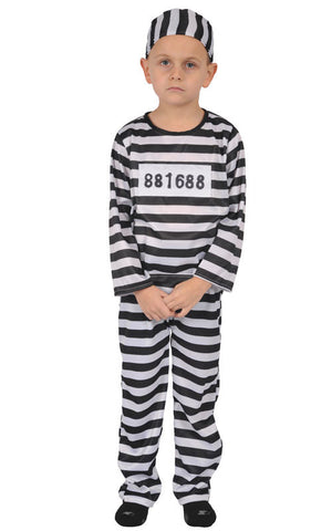 Boys Prisoner Costume - HalloweenCostumes4U.com - Kids Costumes