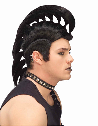 Halloween Wigs Nasty Punk Wigs - HalloweenCostumes4U.com - Accessories