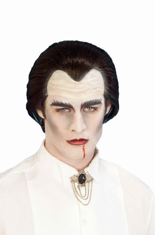 Halloween Wigs Vampire Hairpiece - HalloweenCostumes4U.com - Accessories