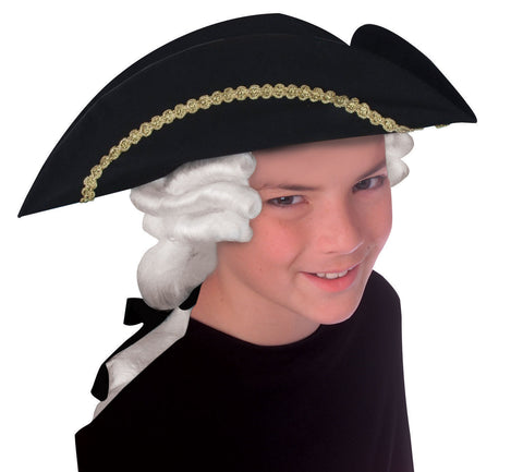 Costume Hats George Washington Hat/Wig Childs