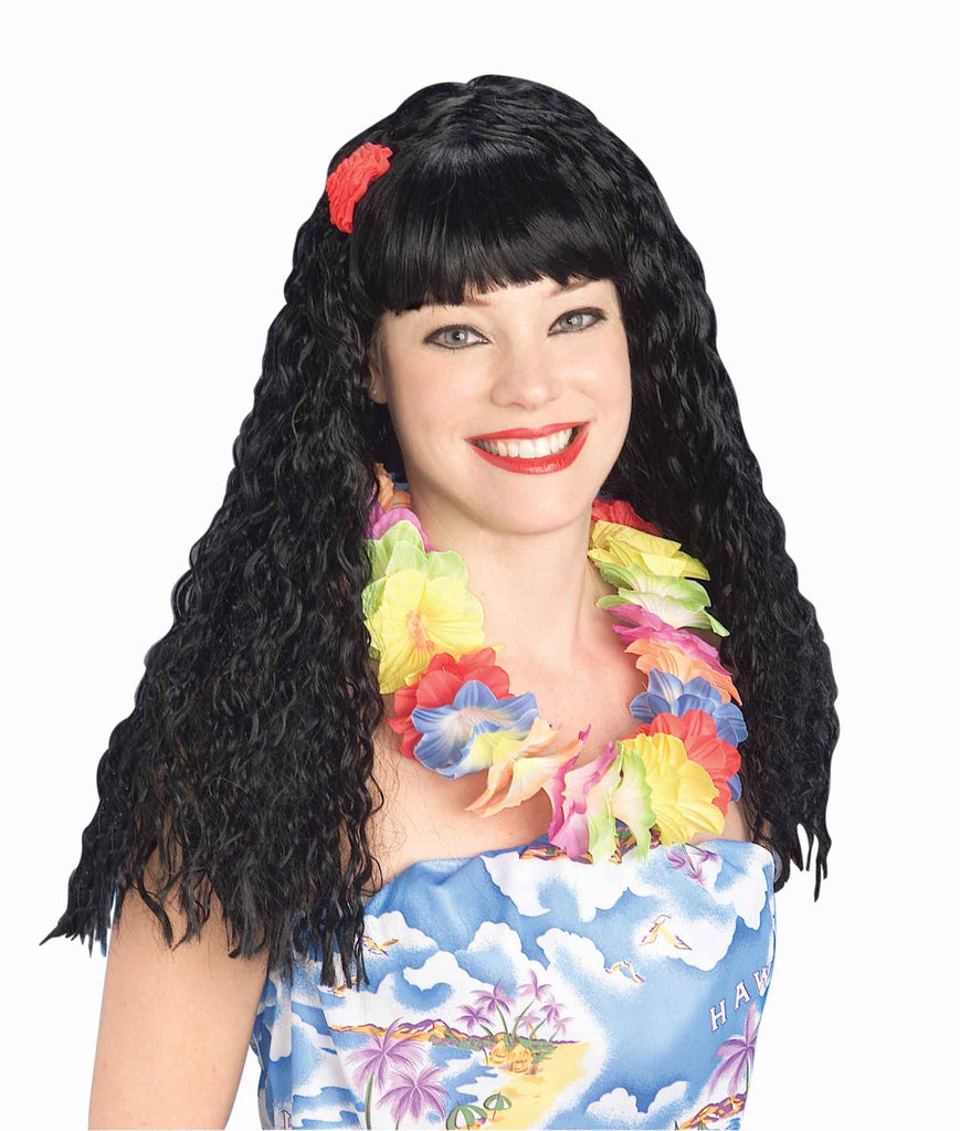 costume wigs hawaiian honey wigs halloweencostumes4ucom accessories