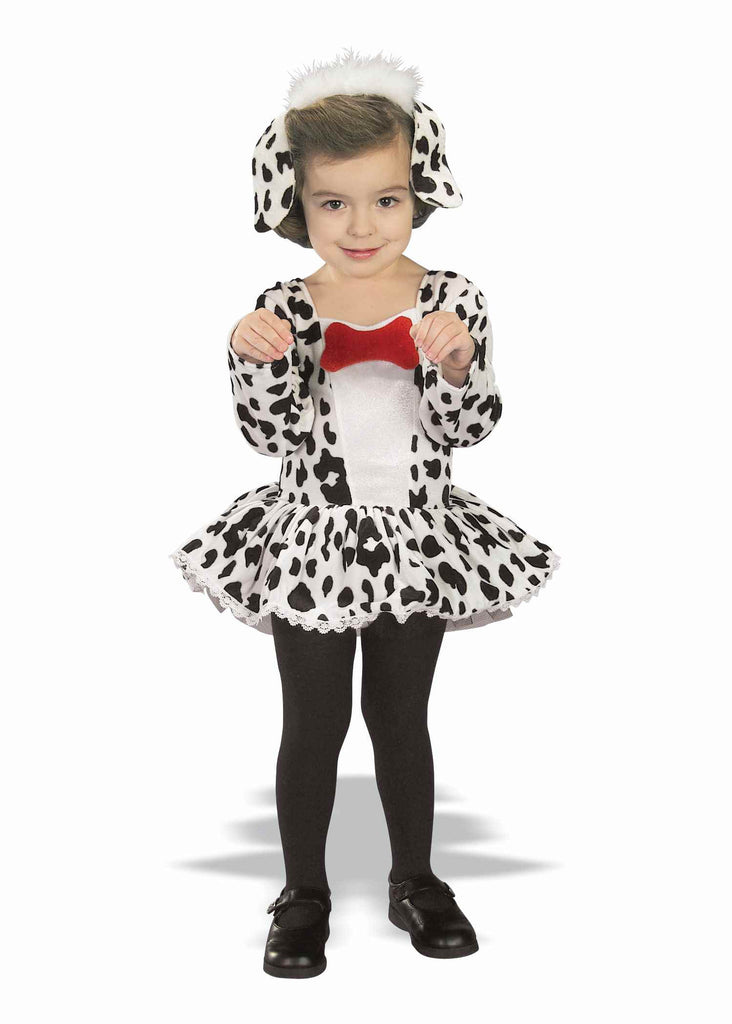 Halloween Costumes Dalmation Toddlers Costume - HalloweenCostumes4U.com - Infant & Toddler Costumes
