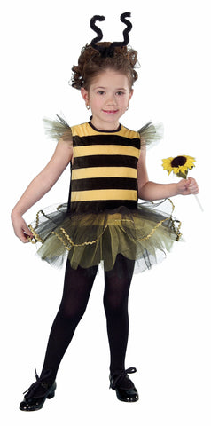 Toddler Girls Honey Bee Costume - HalloweenCostumes4U.com - Infant & Toddler Costumes