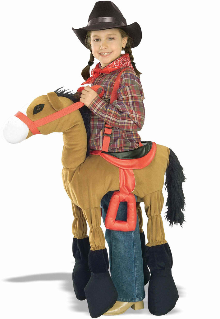 Kids Halloween Costumes Ride Em Horsey Costumes Brown - HalloweenCostumes4U.com - Kids Costumes