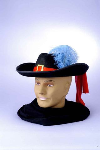 Costume Hats Musketeer Costume Hat - HalloweenCostumes4U.com - Accessories