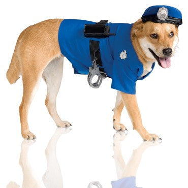 Pets Police Costume - HalloweenCostumes4U.com - Pet Costumes & Accessories