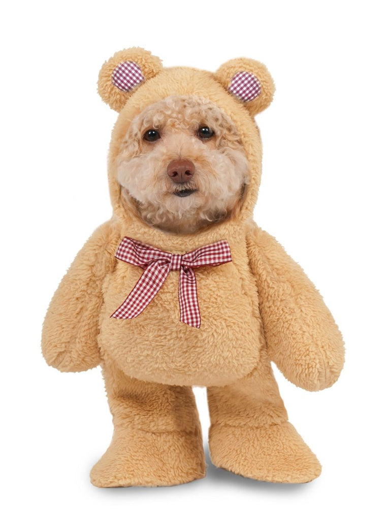 Pets Fluffy Walking Teddy Bear Costume