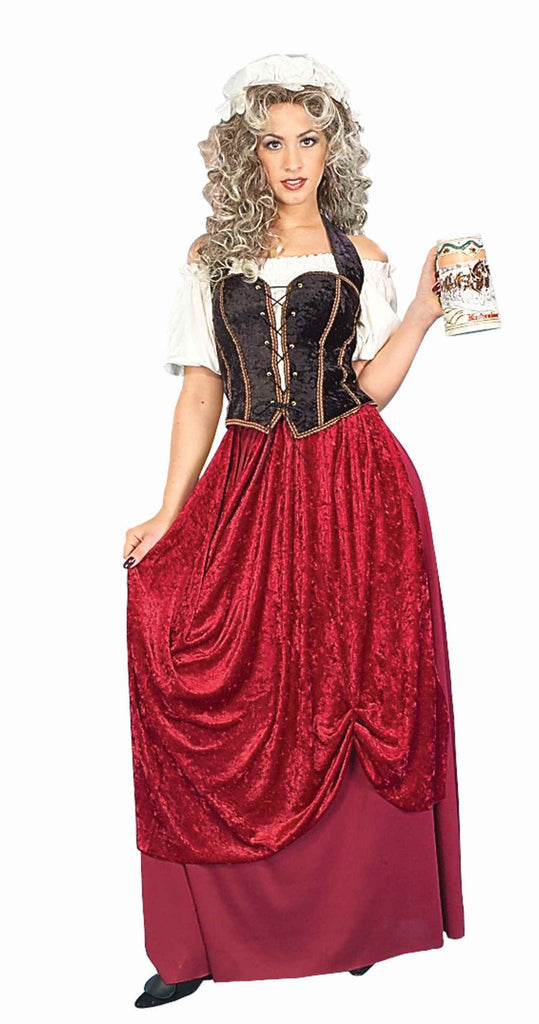 Medieval Costumes Tavern Wench Adults Halloween Costumes - HalloweenCostumes4U.com - Adult Costumes