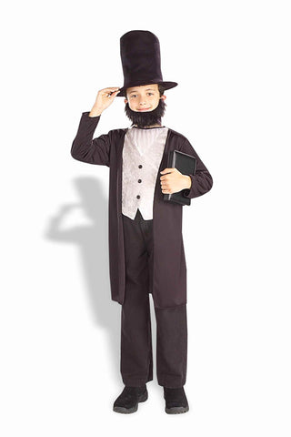 Boys Abraham Lincoln Costume - HalloweenCostumes4U.com - Kids Costumes