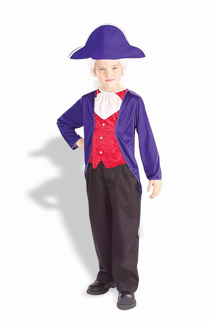 Boys George Washington Costume - HalloweenCostumes4U.com - Kids Costumes