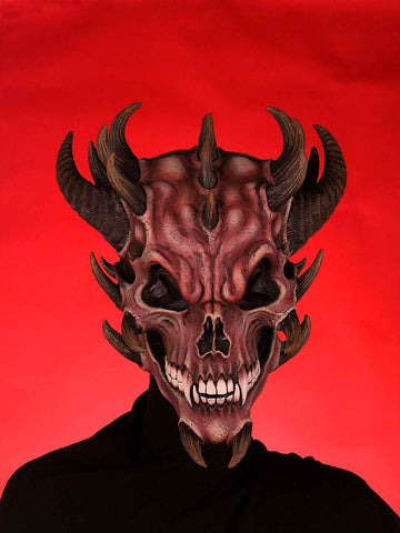Costume Masks Devil Skull Halloween Mask - HalloweenCostumes4U.com - Accessories