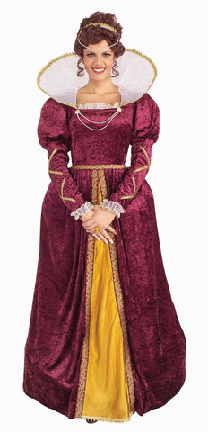 Womens Queen Elizabeth Costume - HalloweenCostumes4U.com - Adult Costumes