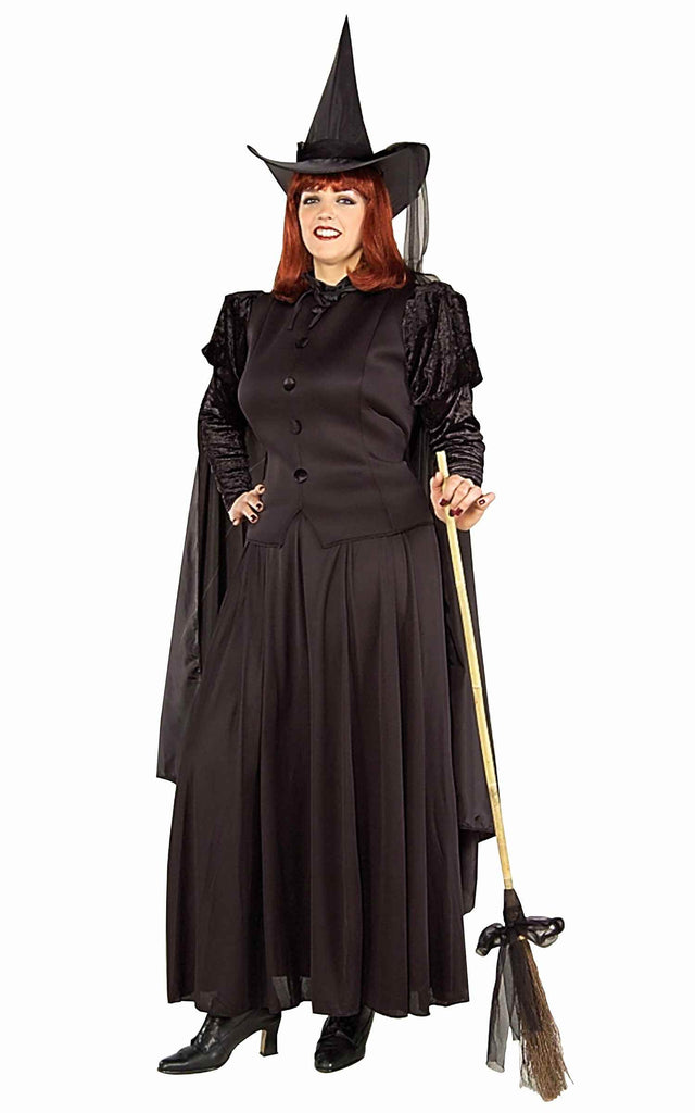 Witch Costume Womens Plus Size Halloween Costumes