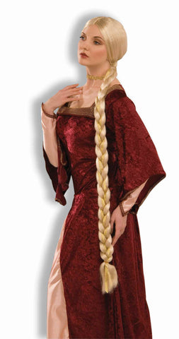 Costume Wigs Long Blonde Braid Costume Wig - HalloweenCostumes4U.com - Accessories