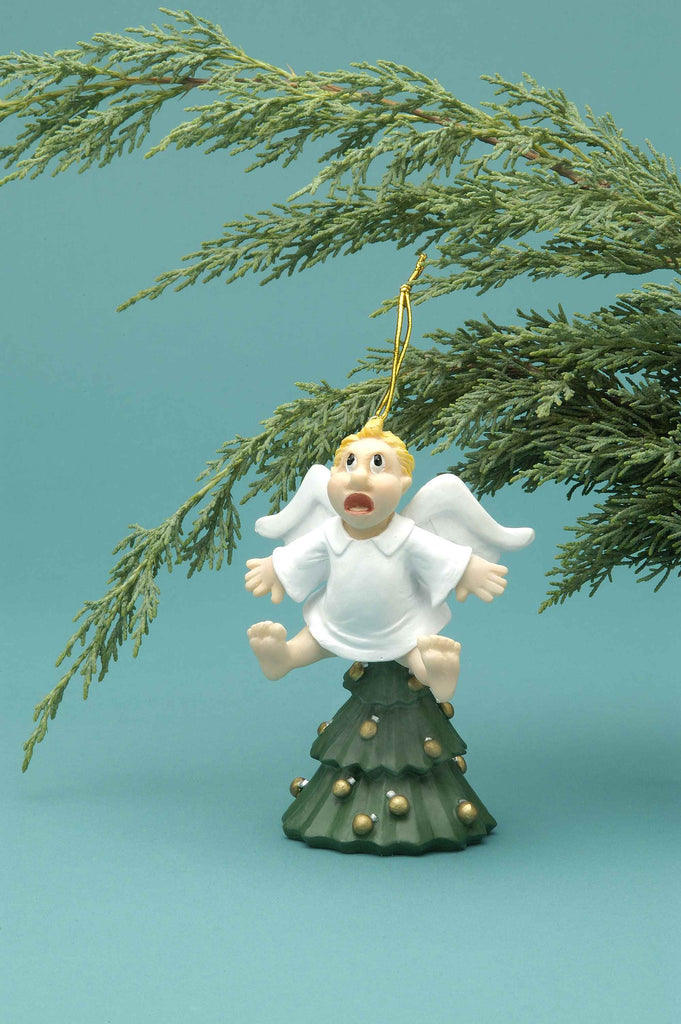 Angel Tree Topper Ornament - HalloweenCostumes4U.com - Decorations