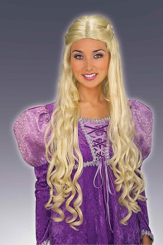 Costume Wigs Long Blonde Renaissance Wig - HalloweenCostumes4U.com - Accessories