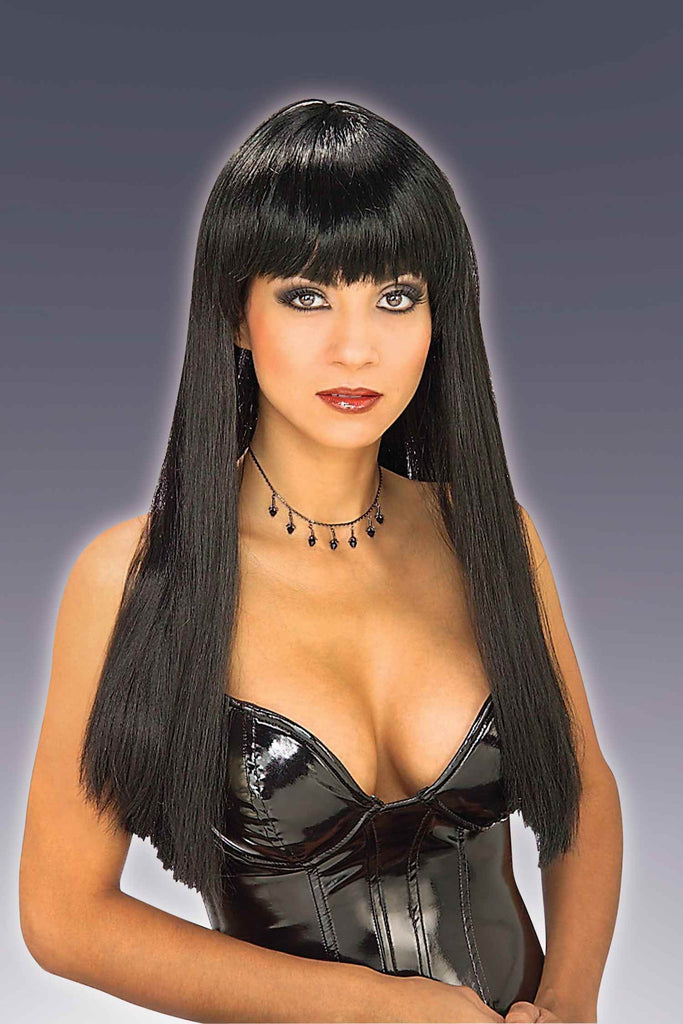 Costume Wigs Sexy Black Halloween Wig