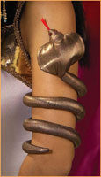 Egyptian Snake Arm Band - HalloweenCostumes4U.com - Accessories