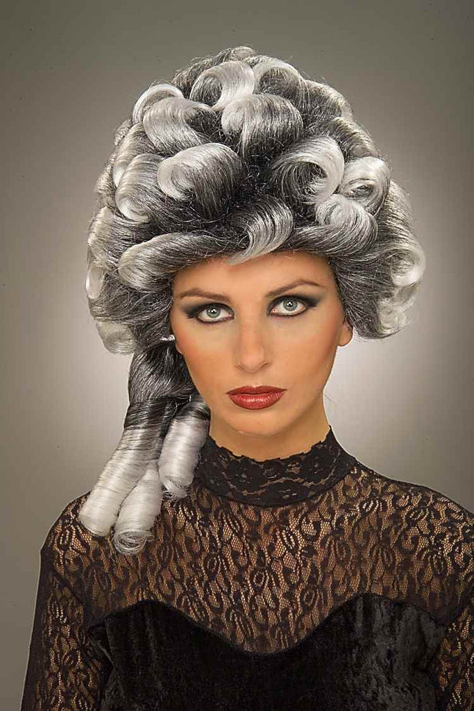 Costume Wigs Big Grey Curls Halloween Wig - HalloweenCostumes4U.com - Accessories