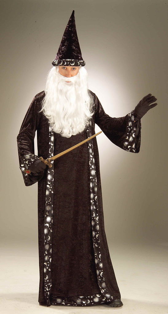 Halloween Costumes Adult Wizard Costume - HalloweenCostumes4U.com - Adult Costumes